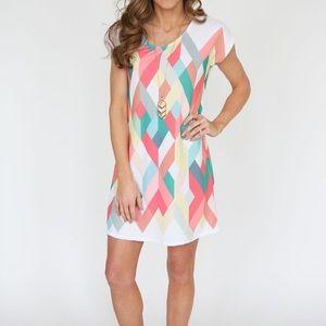 12PM by Mon Ami Geometric Dress